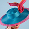 Louise Macdonald Milliner partnered with Hat Academy to launch her 5th online course: Sinamay Brim Extensions Deluxe Course