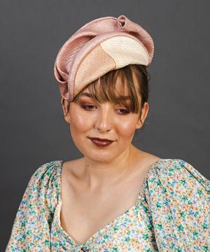 Designer hat Amara by Louise Macdonald Milliner (Melbourne, Australia)