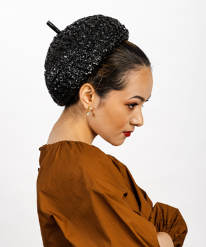 Designer hat Gigi by Louise Macdonald Milliner (Melbourne, Australia)