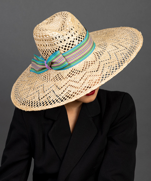 Designer hat Heyday Fedora by Louise Macdonald Milliner (Melbourne, Australia)