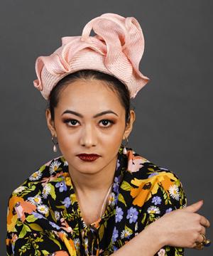 Designer hat Leda by Louise Macdonald Milliner (Melbourne, Australia)