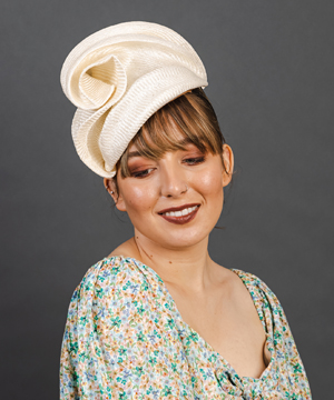 Designer hat Svana by Louise Macdonald Milliner (Melbourne, Australia)