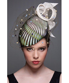 Fashion hat Soho Beret, a design by Melbourne milliner Louise Macdonald