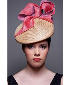 Fashion hat Delancy, a design by Melbourne milliner Louise Macdonald