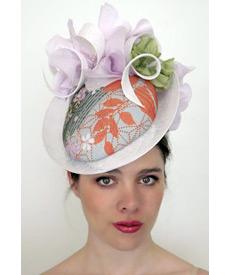 Fashion hat Jasper 2, a design by Melbourne milliner Louise Macdonald