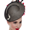 Fashion hat Mutia Headpiece, a design by Melbourne milliner Louise Macdonald