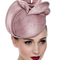 Fashion hat Dusty Pink Tina Beret, a design by Melbourne milliner Louise Macdonald