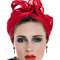 Fashion hat Turban for Iris, a design by Melbourne milliner Louise Macdonald