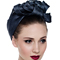 Fashion hat Turban for Lou, a design by Melbourne milliner Louise Macdonald