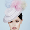 Fashion hat Johana Boater, a design by Melbourne milliner Louise Macdonald