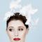 Fashion hat Leandra Headpiece, a design by Melbourne milliner Louise Macdonald