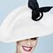 Fashion hat Mercedes, a design by Melbourne milliner Louise Macdonald