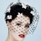 Fashion hat Misty Veil, a design by Melbourne milliner Louise Macdonald