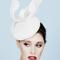 Fashion hat Prasline, a design by Melbourne milliner Louise Macdonald