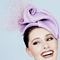 Fashion hat Sabra Headpiece, a design by Melbourne milliner Louise Macdonald