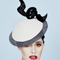 Fashion hat Saquita, a design by Melbourne milliner Louise Macdonald