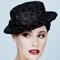 Fashion hat Vintage Boater, a design by Melbourne milliner Louise Macdonald
