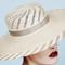 Fashion hat Zelma, a design by Melbourne milliner Louise Macdonald