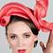 Fashion hat Ariel, a design by Melbourne milliner Louise Macdonald