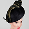 Fashion hat Ida, a design by Melbourne milliner Louise Macdonald