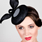 Fashion hat Orbit, a design by Melbourne milliner Louise Macdonald