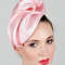 Fashion hat Sega in Pink, a design by Melbourne milliner Louise Macdonald