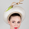 Fashion hat Venus, a design by Melbourne milliner Louise Macdonald
