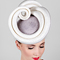 Fashion hat White and Grey Masonaba, a design by Melbourne milliner Louise Macdonald