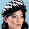 Fashion hat Adeline Cap, a design by Melbourne milliner Louise Macdonald