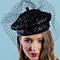 Fashion hat Della, a design by Melbourne milliner Louise Macdonald