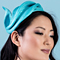 Fashion hat Eli, a design by Melbourne milliner Louise Macdonald