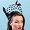 Fashion hat Florence, a design by Melbourne milliner Louise Macdonald