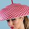 Fashion hat Leona, a design by Melbourne milliner Louise Macdonald