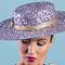 Fashion hat Lillian, a design by Melbourne milliner Louise Macdonald