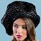 Fashion hat Naomi, a design by Melbourne milliner Louise Macdonald
