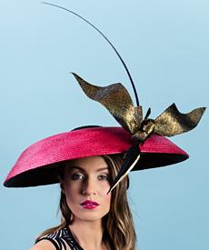 Designer hat Amelia by Louise Macdonald Milliner (Melbourne, Australia)