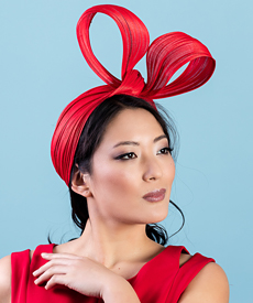 Designer hat Clara by Louise Macdonald Milliner (Melbourne, Australia)