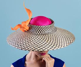 Designer hat Cora by Louise Macdonald Milliner (Melbourne, Australia)