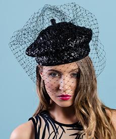 Designer hat Della by Louise Macdonald Milliner (Melbourne, Australia)