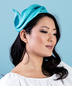 Designer hat Eli by Louise Macdonald Milliner (Melbourne, Australia)