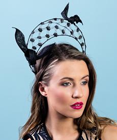 Designer hat Florence by Louise Macdonald Milliner (Melbourne, Australia)
