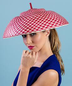 Designer hat Leona by Louise Macdonald Milliner (Melbourne, Australia)
