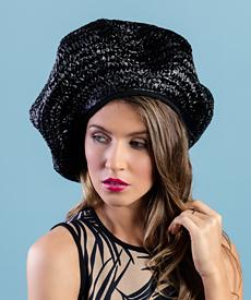 Designer hat Naomi by Louise Macdonald Milliner (Melbourne, Australia)