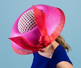 Designer hat Pearl by Louise Macdonald Milliner (Melbourne, Australia)