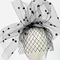 Fashion hat Sofia Veil, a design by Melbourne milliner Louise Macdonald