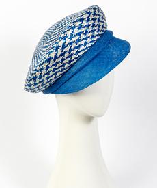 Designer hat Camilla Cap by Louise Macdonald Milliner (Melbourne, Australia)