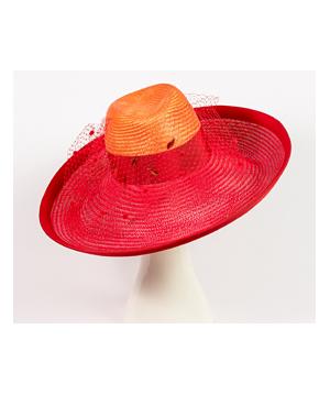 Designer hat Elenora Fedora by Louise Macdonald Milliner (Melbourne, Australia)
