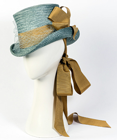 Designer hat Giddy Up Riding Hat by Louise Macdonald Milliner (Melbourne, Australia)