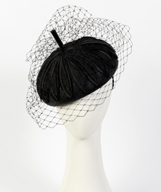Designer hat Little Stevie by Louise Macdonald Milliner (Melbourne, Australia)