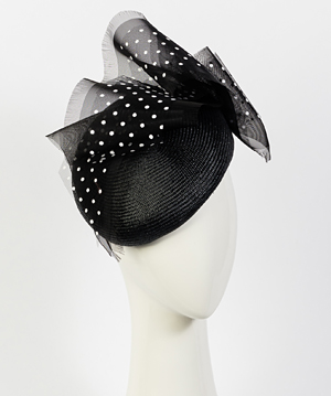 Designer hat Martina Beret by Louise Macdonald Milliner (Melbourne, Australia)